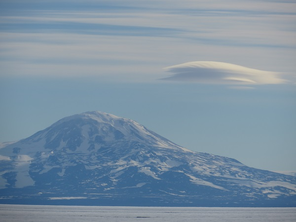 Lenticular clouds at Mt Discovery