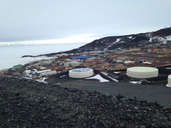 View of McMurdo from Observation Hill
