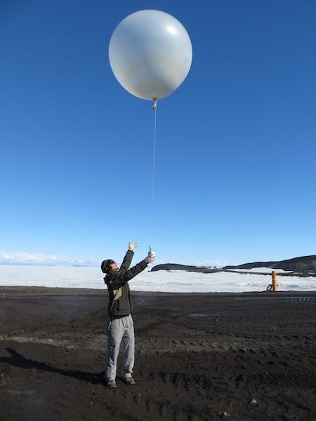 Goodbye balloon!