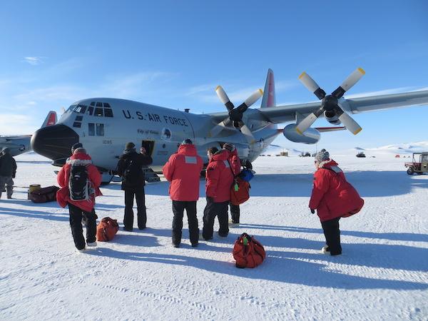 We're back at McMurdo!
