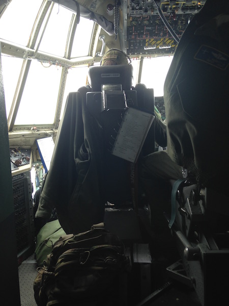 Cockpit of the LC-130