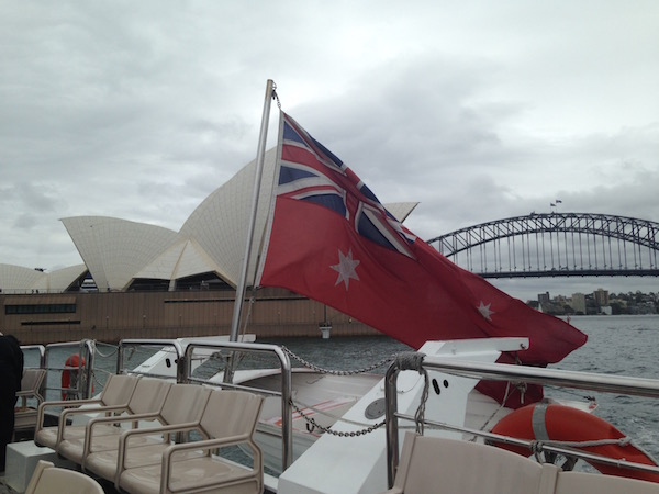 Sydney ferry ride