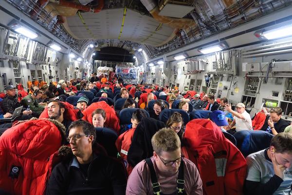 Inside the C-17